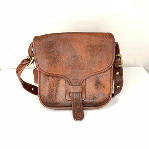 Coach Oxblood Leather Vintage Crossbody